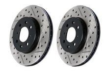 StopTech Slotted & Drilled Sport Brake Rotor Kia Optima 2011-2016