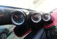 RMX CARBON FIBER TRIPLE GAUGE PILLAR 52MM GENESIS COUPE 2010 - 2016