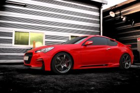 M&S Carart Hyper-G ABS Sideskirts 2010 - 2016 Genesis Coupe