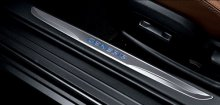 Blue Led Oem Door Sills for Genesis Coupe