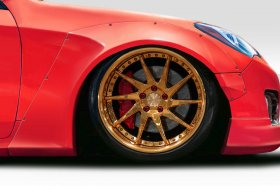 Extreme Dimensions Duraflex MSR V2 50mm Front Fender Flares Genesis Coupe - 4 Piece