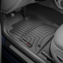 WeatherTech 2015+ Hyundai Genesis Fits Sedan and AWD Models Only Front FloorLiner - Black