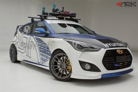 Ark Perforamance C-FX Fiberglass Body Kit Hyundai Veloster Turbo 2012+