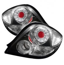 HYUNDAI TIBURON 03-05 LED TAIL LIGHTS - BLACK