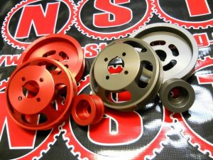 Genesis Coupe Non stop tuning waterpump and alternator Pulley Set 3.8 2010 - 2012