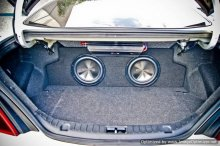 Genesis Coupe Zenclosures subwoofer enclosure 2010 - 2013