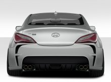 Extreme Dimensions VG-R Rear Bumper Genesis Coupe 2010 - 2014