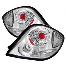 HYUNDAI TIBURON 03-05 LED TAIL LIGHTS - CHROME