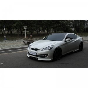 NEFDesign Front Lip Genesis Coupe 2010 - 2012