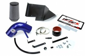 HPS Blue Shortram Air Intake Heat Shield Genesis Coupe 3.8L V6 2013 - 2016