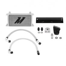 Mishimoto Silver Oil Cooler Kit Genesis Coupe 3.8 V6 2010 - 2016