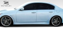 2010-2014 Hyundai Genesis 4DR Duraflex Executive Side Skirts Rocker Panels - 2 Piece