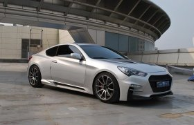 M&S Carart Hyper-G Bodykit Type A Genesis Coupe 2013+