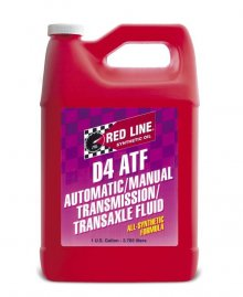 Redline D4 Synthetic Automatic Transmission Fluid - Gallon