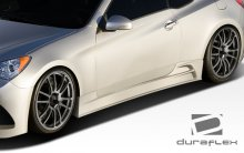 Extreme Dimensions Duraflex J-Spec Side Skirts 2010 - 2013+ Genesis Coupe