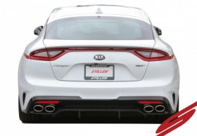 Stillen Rear Diffuser-Matte Black Kia Stinger GT 2018+