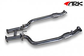 Ark Performance Downpipe with H-test pipe 3.8 Genesis Coupe 2010 - 2012