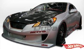 Genesis Coupe Hot Wheels Complete Body Kit 2010 - 2012