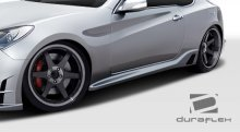 TP-R Duraflex Side Skirts 2010-2013+ Genesis Coupe - 2 Piece