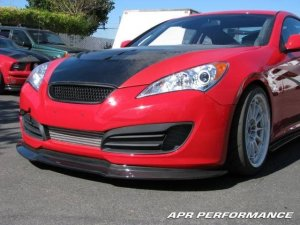 Genesis Coupe APR Performance Front Air Dam 2010 - 2013