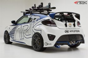 Ark Performance C-FX Carbon GT Wing Hyundai Veloster Turbo 2013+