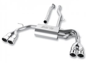 Borla Stainless Steel Cat-Back System 2010 - 2013+ Genesis Coupe 2.0T
