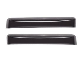 WeatherTech Rear Side Window Deflectors - Dark Smoke Kia Optima 2011+