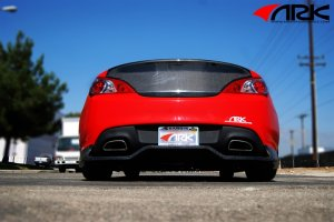 ARK C-FX Rear R-spec Diffuser Genesis Coupe 2010 - 2016
