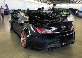 Monster Service V1 Rear Wide Body kit Genesis Coupe 2010 - 2016