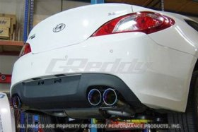 Genesis Coupe Greddy Spectrum Elite SE Exhaust 2010 - 2012