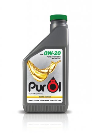 Purol Elite SAE 0w-20 Synthetic Motor Oil 1 Quart