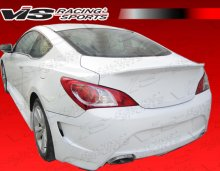 Vis Racing AMS GT Rear Bumper 2010 -2013 Genesis Coupe