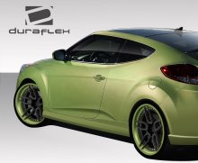 2012-2014 Hyundai Veloster Duraflex VG-R Side Skirts Rocker Panels - 2 Piece