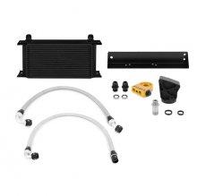 Mishimoto Black Oil Cooler Kit 2010-2012 Genesis Coupe 3.8 V6 Thermostatic