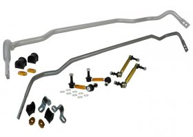 Whiteline FRONT & REAR Adjustable Sway Bar KIT and Endlinks Kia Stinger