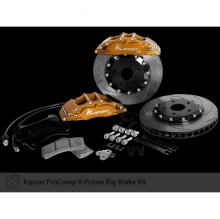 "KSPORT FRONT SUPERCOMP 15"" 8 PISTON BIG BRAKE KIT FOR 2010 - 2014 GENESIS COUPE"