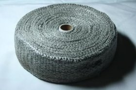 ExoticSpeed (2mm x 50mm x 20m) EXHAUST THERMAL HEAT WRAP