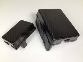 Carbon Fiber Fuse Box Cover SET Hyundai Genesis Coupe - ALL