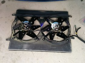 UNIQ PERFORMANCE Stage 2 Radiator Shroud & Fans 2.0T 3.8 Genesis Coupe 2013 - 2015