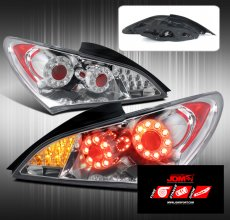 JDM Sport FULL LED REPLACEMENT TAIL LIGHTS - CHROME