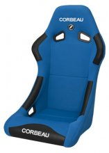 Forza Fixed Back Racing Seat Blue Cloth