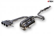 ARK DT-S Catback Exhaust System POLISHED TIPS Hyundai Veloster 2012+