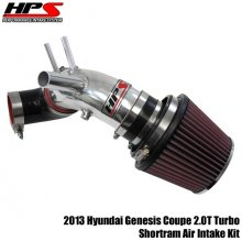 HPS Shortram Intake 2013 Genesis Coupe 2.0T Turbo - Polish