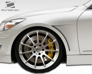 2010-2014 Hyundai Genesis 4DR Duraflex Executive Fenders - 2 Piece