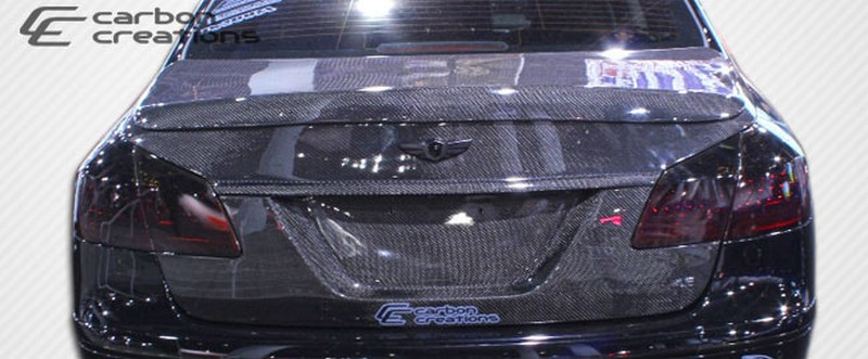 2010-2014 Hyundai Genesis 4DR Carbon Creations OEM Trunk - 1 Piece - Click Image to Close
