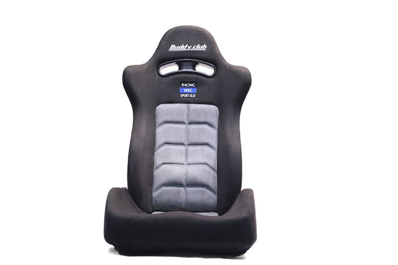 Buddy Club Racing Spec Sport Reclinable Seat Black W