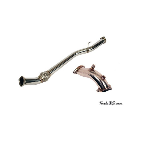 TURBOXS STEALTHBACK DOWNPIPE FOR 2.0T 2010 - 2012 GENESIS COUPE
