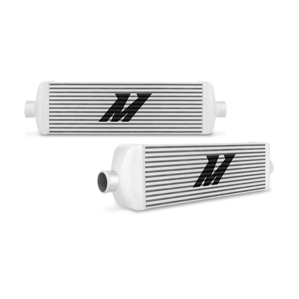 Mishimoto Black Universal Race Edition Intercooler J-Line - Click Image to Close
