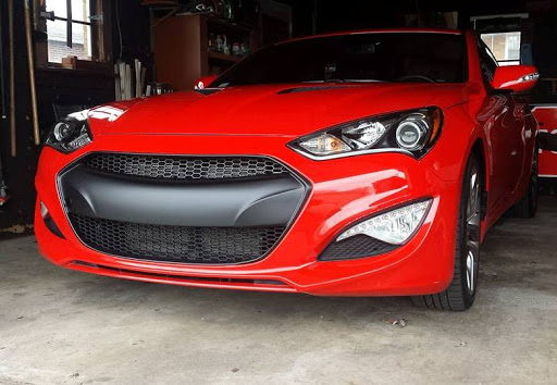 M&S Front Grill 2013+ Hyundai Genesis Coupe : KDM Project, Kia and
