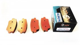 G-LOC R10 REAR BRAKE PADS FOR HYUNDAI VELOSTER N PERFORMANCE